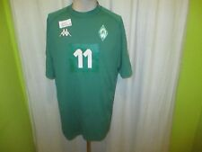 """Werder Bremen Kappa Matchworn Trikot 01/02 """"ohne Hauptsponsor"""" + Nr.11 Gr.L- XL"""