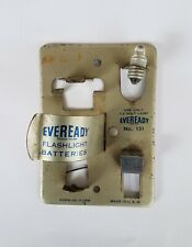 Vintage Eveready Flashlight Battery Tester Model 131, from 1950's,Actually works