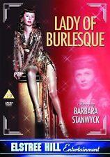 LADY OF BURLESQUE BARBARA STANWYCK MICHAEL O'SHEA ELSTREE UK REGION FREE DVD NEW