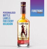 Personalised Dark Rum bottle label, Perfect Birthday/Wedding/Graduation Gift