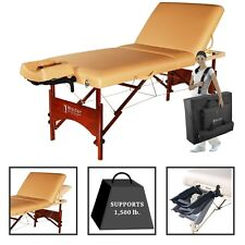 "Master 30"" Deauville Salon Portable Massage Table(Beige)"