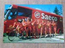 wielerkaart  2002 team saeco  tourploeg