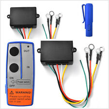 100ft 12V Wireless Winch Remote Control Switch Handset for Car ATV Truck