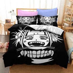 My Hero Academia Comforter Cover 3PCS Bedding Sets Quilt Duvet Cover Pillowcase