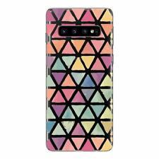 Samsung Galaxy S10 Carcasa Fantasía Gel Suave y Macizo (Triángulo)