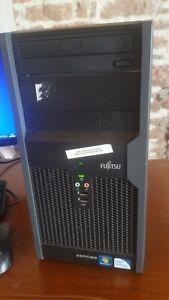 Ordinateur de bureau FUJITSU ESPRIMO P2550 W7 PRO/Office2010/DD320Go/2Go RAM