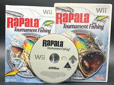 """NINTENDO WII SPIEL"""" RAPALA TOURNAMENT FISHING """" KOMPLETT"""