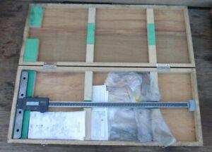 Mitutoyo VDS-45DC Digital Depth Gauge Engineers Measuring Tool in Box 450mm