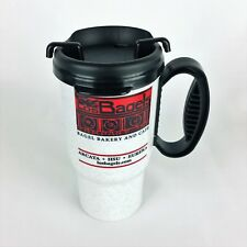Los Bagels Co. Whirley Travel Coffee Mug Soda Hot Cold Plastic Thermo Tea Cup