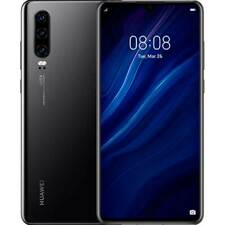 Huawei P30 4G 128GB Dual SIM NERO 24 mesi garanzia Italiana europa