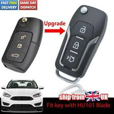 For Ford Focus Fiesta S-Max B-Max C-Max Mondeo UK Modified Car Key Case Shell
