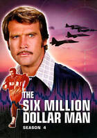 The Six Million Dollar Man: Season 4 New DVD! Ships Fast!