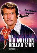 Six Million Dollar Man ~ Complete 4th Fourth Season 4 Four ~ NEW 6-DISC DVD SET