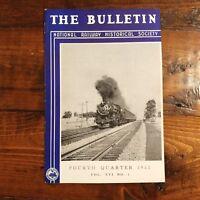 1958 Railway History Magazine Baltimore & Ohio Railroad + Southern Pacific + MD