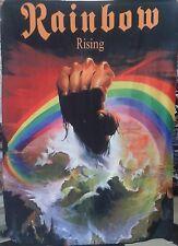 RAINBOW Rising FLAG CLOTH POSTER TAPESTRY BANNER CD Heavy Hard Rock