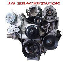 Sanden A/C SD7B10 , 7176 Mini Chevrolet Truck LQ LS A/C  Swap bracket