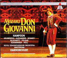 Mozart: Don Giovanni Hampson Gruberova Robert Holl Bloch scherzo Harnoncourt 3cd