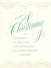 Baby Christening Invitation New Born Blessing Name Boy Girl Religious Infant