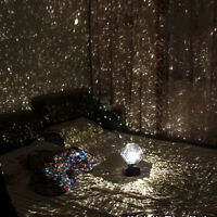 LED Star Projector Lamp Sky Projection Cosmos Night Light Kid Home Decoration