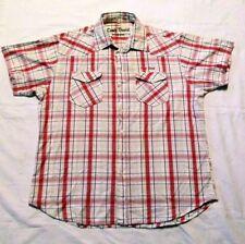Karierte Camp David Kurzarm Herren-Freizeithemden & -Shirts