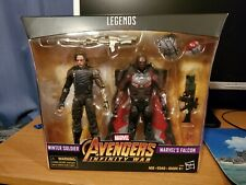 Marvel Legends Avengers Infinity War Winter Soldier and Falcon 2-Pack New