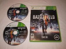 Battlefield 3 (Microsoft Xbox 360) Original Release Game in Case Nr Mint!