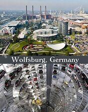 Germany - WOLFSBURG Volkswagen Factory - travel souvenir FLEXIBLE fridge magnet
