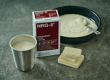 WELTUNTERGANG: 4x NRG-5 Notnahrung Notration Emergency Food Ration (LOT 2015)