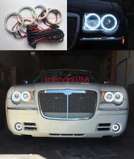 4pcs LED SMD 7000K Angel Eyes kit Halo Rings For Chrysler 300C 2004 - 2010