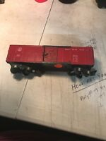 American Flyer 633 B&O Box Car Red Painted Vintage A.C. Gilbert AF