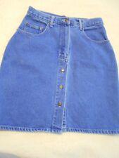 Jordache Blue Jean Skirt Size 12 Medium Wash