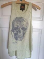 Skull Tshirt Vest Size 8