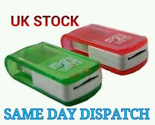 1pc Mini USB 2.0 MICRO TF SDHC SD Memory Card Reader Adapter Red/Green Adaptor j