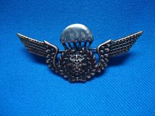 PORTUGAL PORTUGUESE MILITARY PARACHUTE PARATROOPER WINGS INSIGNIA PIN