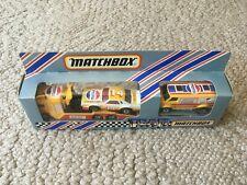 MATCHBOX TEAM CONVOY RACING TRANSPORTER TM 1 TM1 PEPSI with box