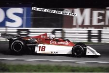9x6 Photograph, Brett Lunger , B&S Surtees TS19 , Italian GP Monza 1976