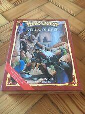 Heroquest KELLAR'S kellars Keep * Sigillato Nuovo di zecca, & Perfetto Scatola! *