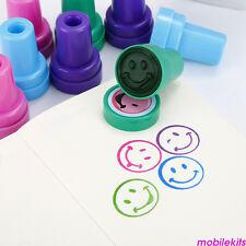 8 PCS Cute Cartoon Animal Stamps Seal Set Self Inking Stamps Kids Toy Gifts