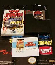 Super Jeopardy (Nintendo Entertainment System, 1991) NES Complete Nice!