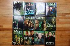 CSI: Crime Scene Investigation - Complete Seasons 1-12 DVDs Box Set