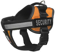 "SECURITY BODY GUARD DOG Vest with Removable Reflective Patch Size 15"" - 46"""