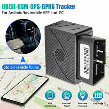 OBD2 II GPS Tracker Real Time Vehicle Tracking Device GSM GPRS Car Truck Locator