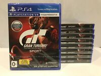 Gran Turismo Sport Sony Playstation 4 PS4 Brand New Factory Sealed