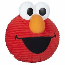 Playskool Sesame Street Giggle Faces Elmo Plush Stuffed Laughing Pillow Face