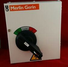 MERLIN GERIN mgfl0203c TRIPLE palo a tre fasi TP 20Amp switch disconnector NUOVO