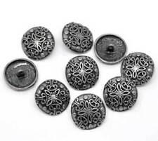 Runde ohne Angebotspaket Knöpfe zum Nähen aus Metall