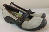 MERRELL Plaza Bandeau Womens 6.5 (EU 37)Dark Taupe Suede Leather Shoes