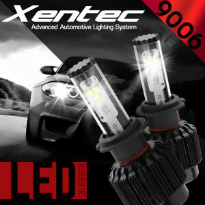 XENTEC LED HID Headlight kit 388W 38800LM 9006 6000K for 1991-2001 Acura NSX