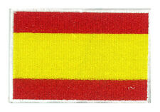 Patche écusson drapeau Espagne Espana Spain 85 x 55 mm brodé thermocollant