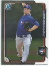 Sean Reid-Foley Toronto Blue Jays 2015 Bowman Chrome Draft Prospect